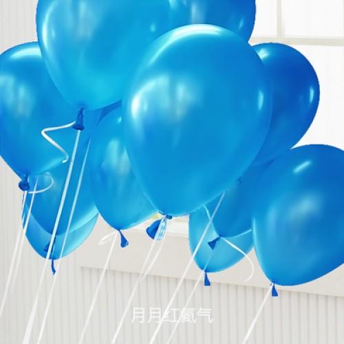 深藍色 乳膠氣球