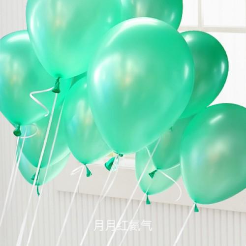 蒂芙尼绿 乳胶气球