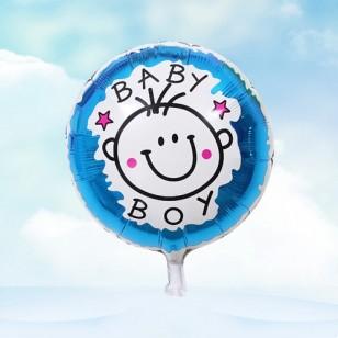 男孩款 18寸男孩女孩BABY鋁箔氣球