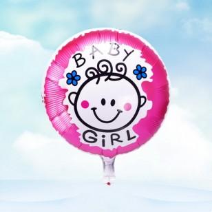 女孩款 18寸男孩女孩BABY鋁箔氣球