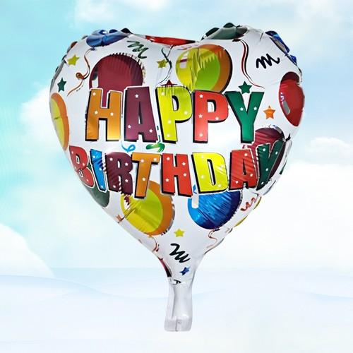 18寸生日鋁箔氣球 彩球生日