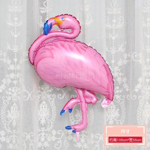 火烈鳥大號鋁膜氣球 粉色