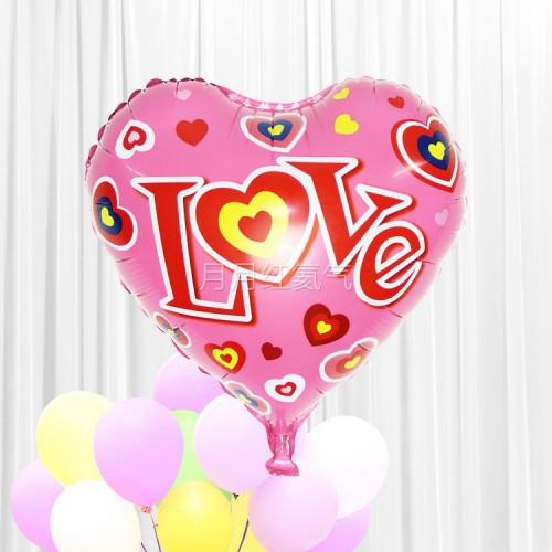 18寸婚禮結婚心形鋁箔氣球 G款