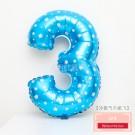 藍色數字3