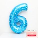 藍色數字6