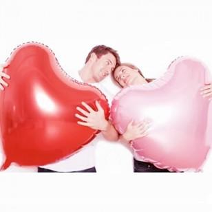 超大號32寸愛心心形鋁膜氣球