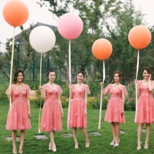 36寸超大乳膠拍照氣球 情景佈置氣球