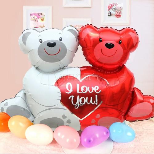 大號愛戀熊愛心抱抱熊