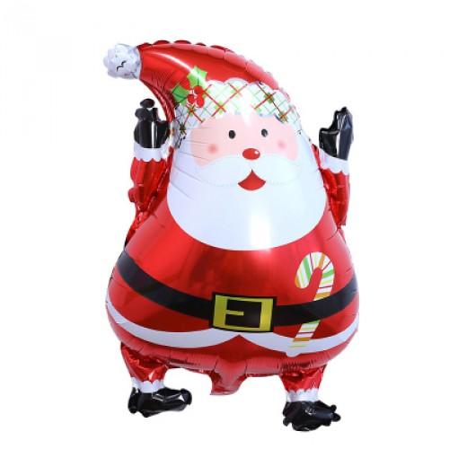 Merry Christmas Santa Claus 耶誕節聖誕節氣球 Q版聖誕耶誕老人
