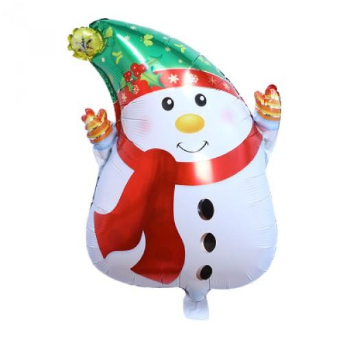 Merry Christmas Snowman  耶誕節聖誕節氣球 Q版耶誕雪人