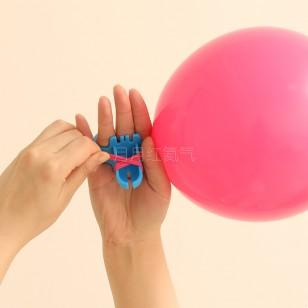 氣球打結器 輕松綁乳膠氣球工具