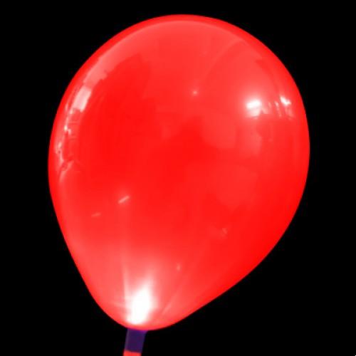 發光氣球 大紅色
