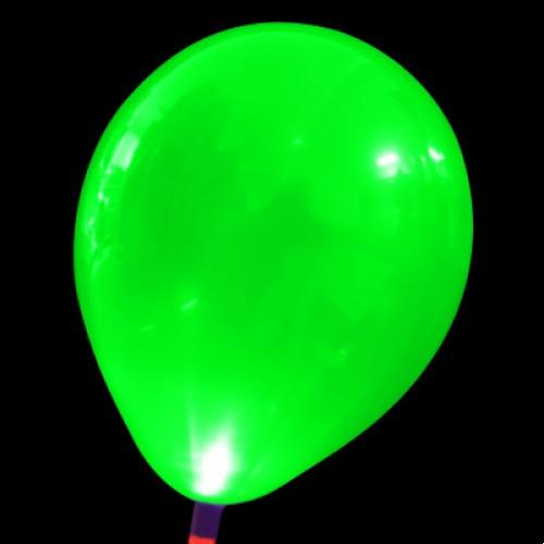 發光氣球 綠色