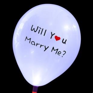 發光氣球 Will you款