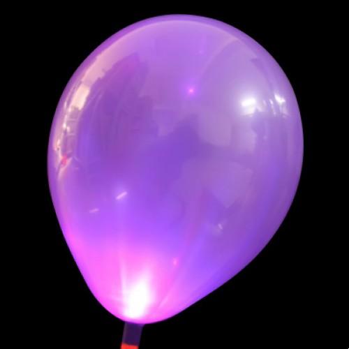 發光氣球 紫色
