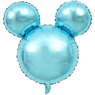 純色光面米奇頭氣球