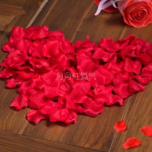 喜慶用品仿真玫瑰花瓣