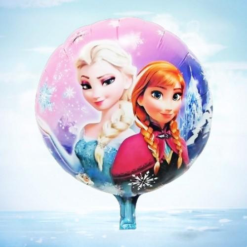 18寸冰雪奇緣鋁箔氣球 冰雪公主