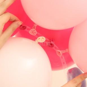 不規則氣球鏈 氣球拱門甜品台支架佈置氣球鏈條