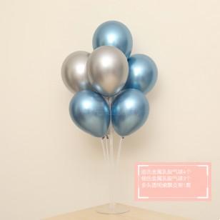 I金屬藍+金屬銀+支架桌漂套餐