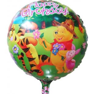 維尼熊Winnie小手 18寸鋁箔氣球