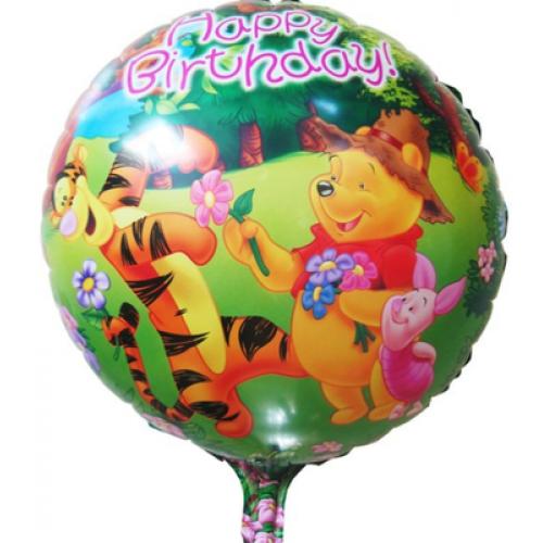 維尼熊和跳跳虎 生日鋁箔氣球