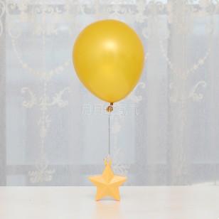 氣球大吊墜大掛墜  防飄空固定底座 星星配重塊重力塊