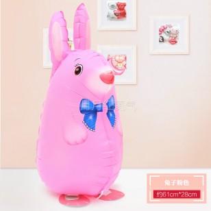 行走氣球 走路動物氣球 散步寵物氣球 兔子款