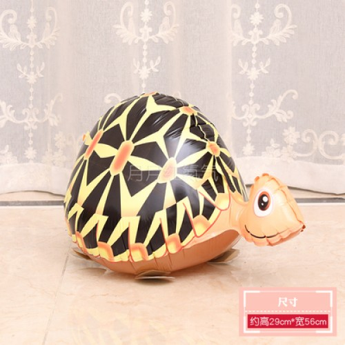 行走氣球 走路動物氣球 散步寵物氣球 烏龜