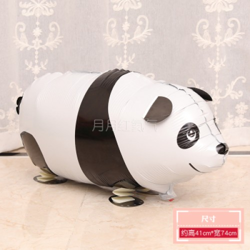 行走氣球 走路動物氣球 散步寵物氣球 熊貓