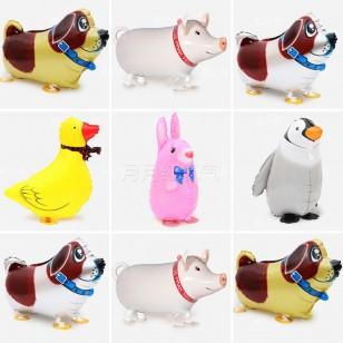 行走氣球 走路動物氣球 散步寵物氣球 小鴨子