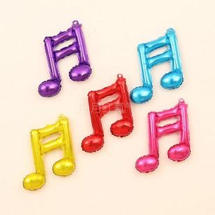 音樂Music單音符雙音符鋁箔氣球