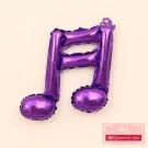 雙音符紫色